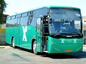 israeli long distance bus