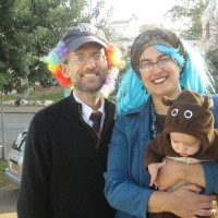Dh, me and Yirmi the bear (7.5 months)