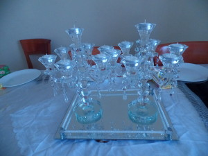Our new Shabbos candlesticks