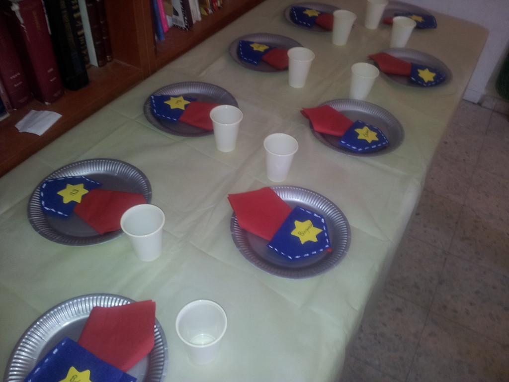 Cowboy table