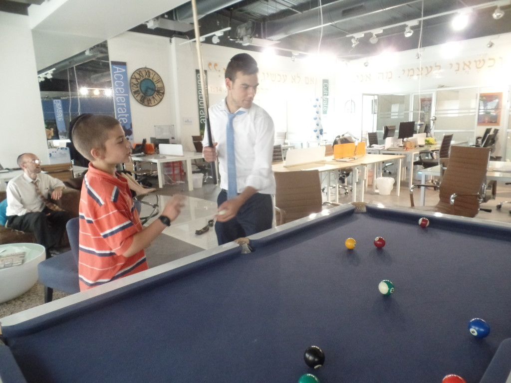 Ds10 and ds17 playing pool