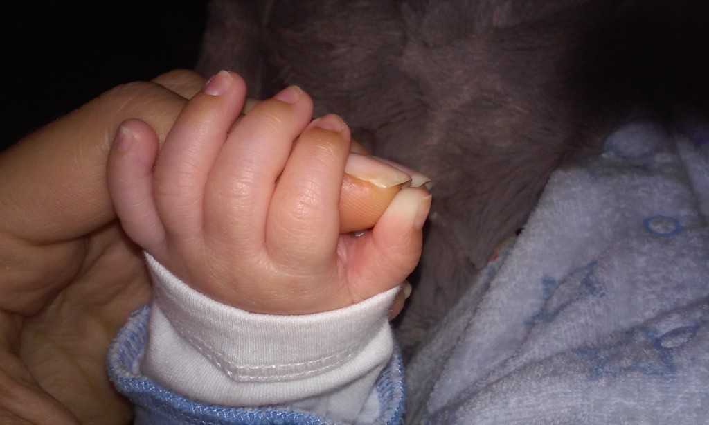 pic - baby hand