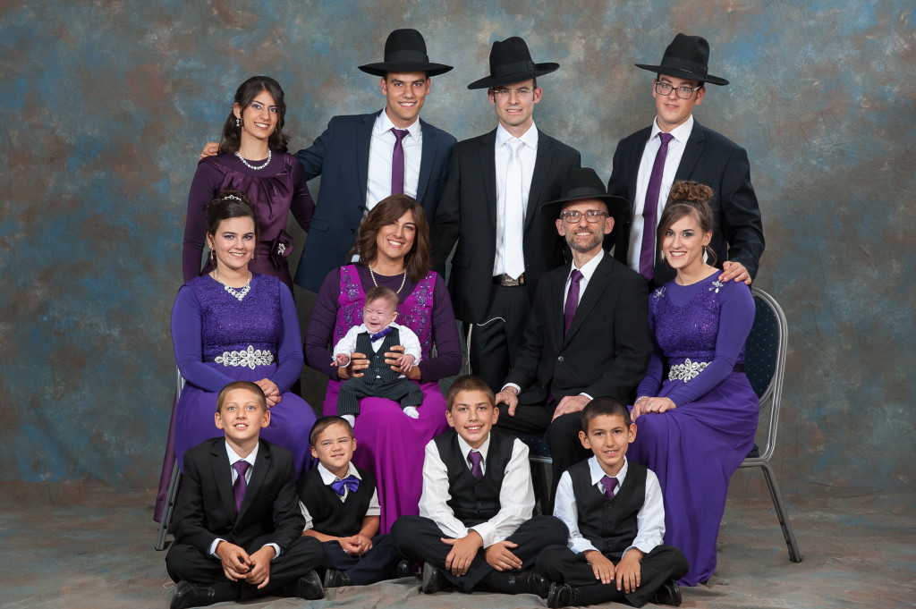 Family photo (Rafael wasn't feeling well)