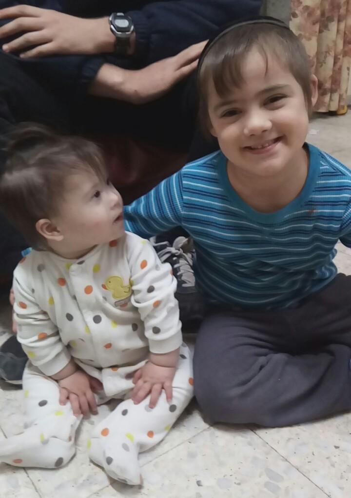 Yirmi (5.5) and Rafael (1)