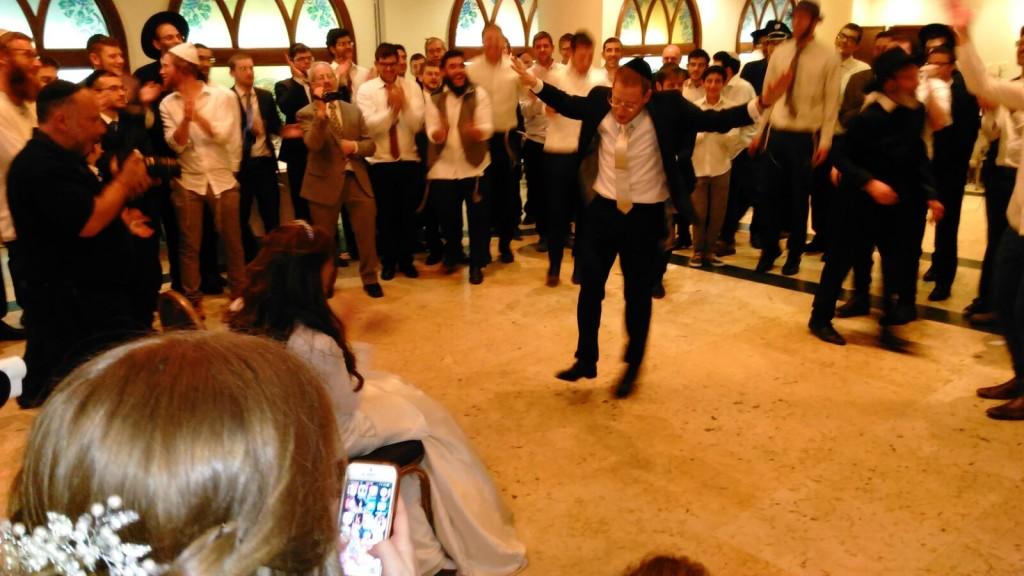Meir dancing for Tehila