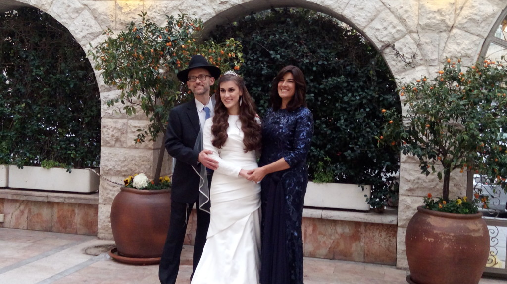 My husband and I with our lovely bride!