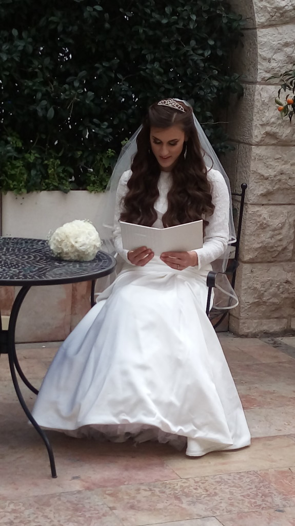 Tehila - reading prayer for the bride